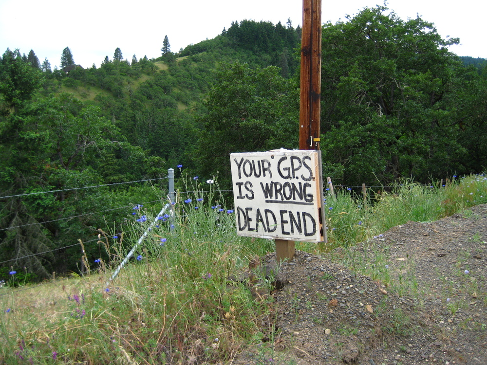 Jrdn's favorite climb led past this sign