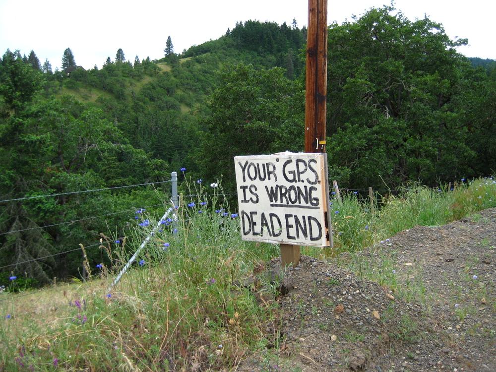 Jrdn's favorite climb led past this sign