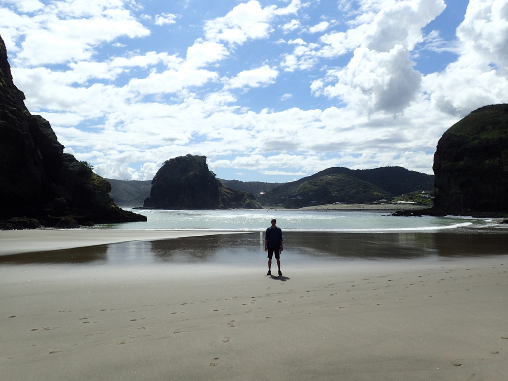 On The Beach at Piha