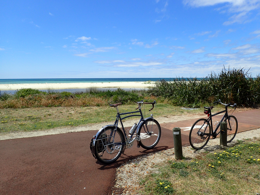 Bike Path by the Beach