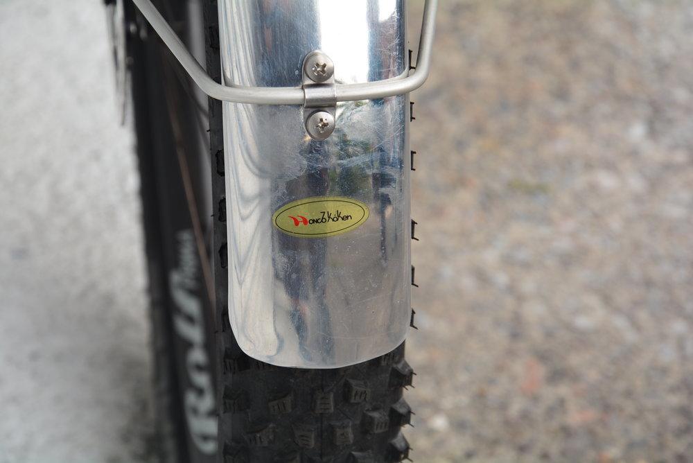 Honjo H-95 alloy fenders