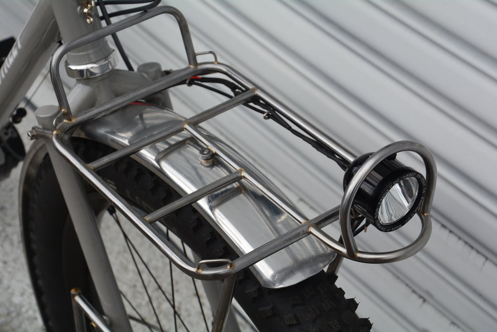 Front Rack Upper Deck, Light & Roll Cage
