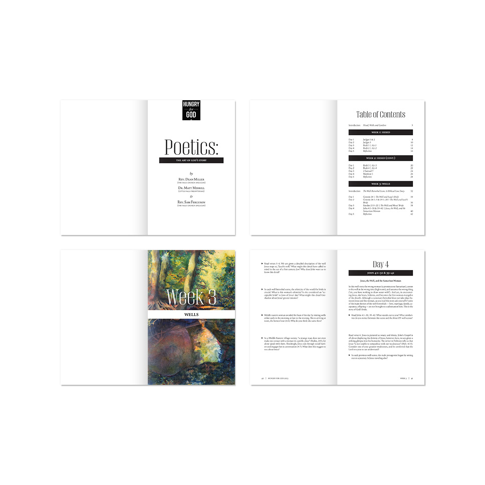 Interior Booklet Design