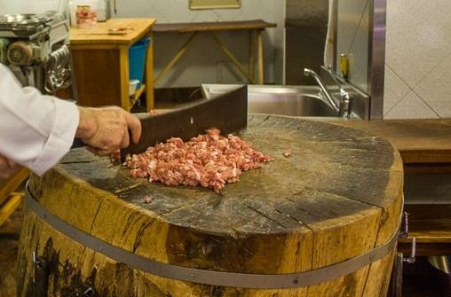 visit the traditional Sicilian butcher shop