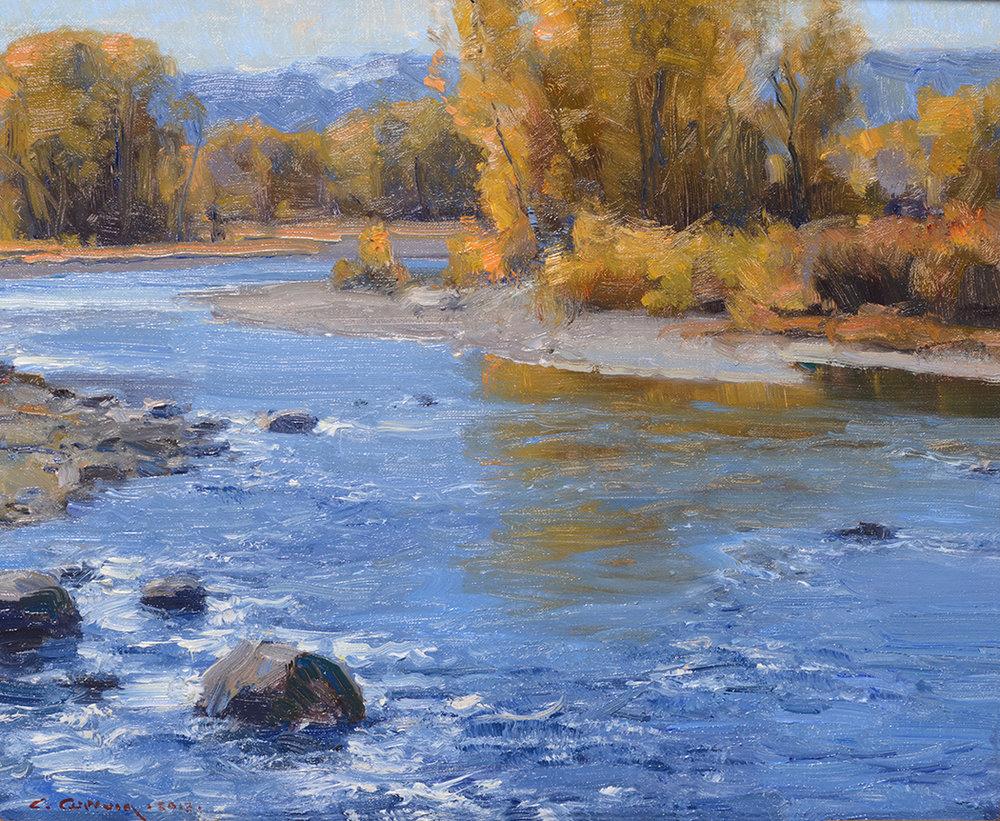 """©CLYDE ASPEVIG """"Boulder River"""" - SOLD"""
