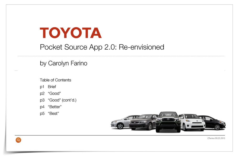 Toyota Pocket Source App >> Toyota Futuristic Tech Concepts Carolyn Farino