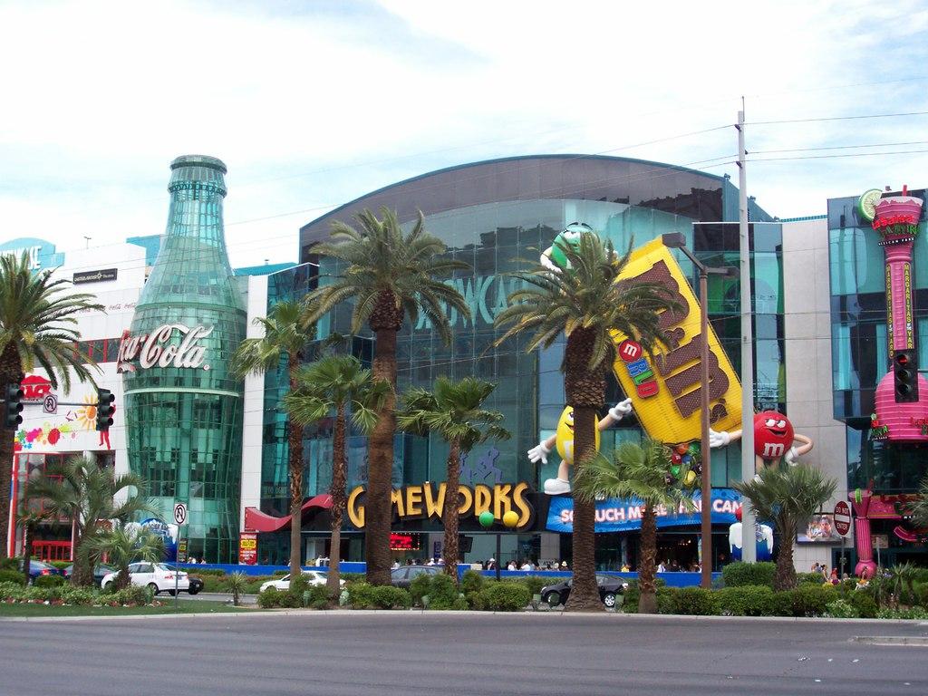 Image result for coca cola las vegas strip