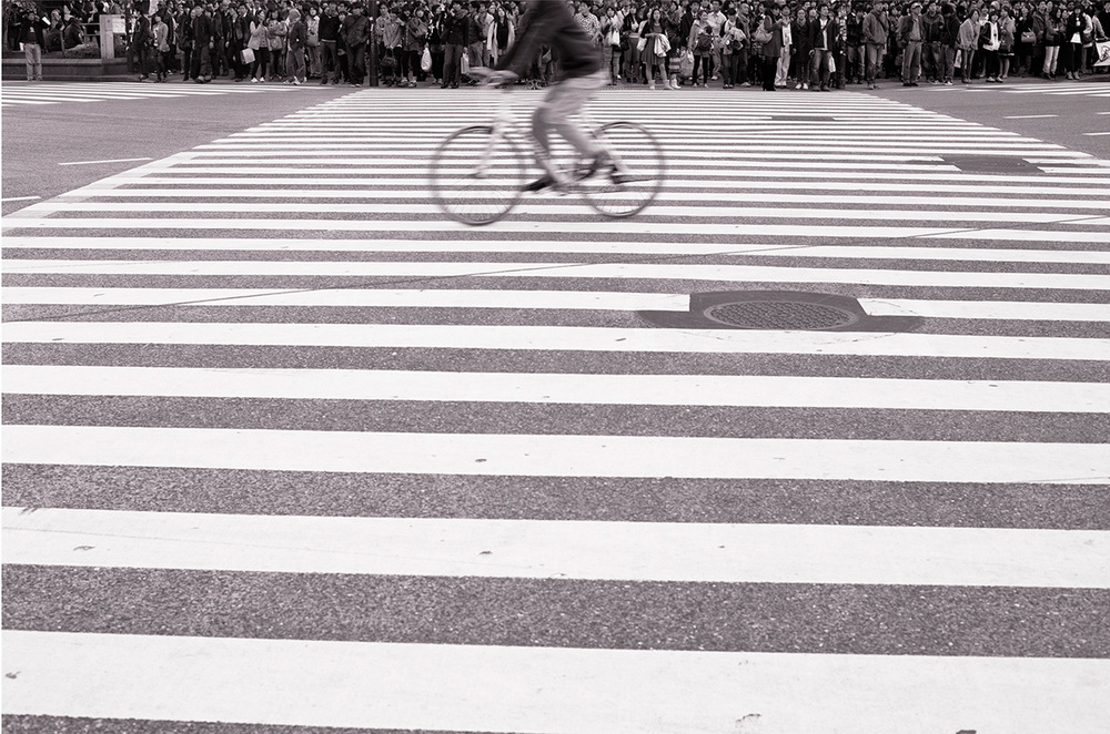"Crossing  (2012) archival pigment print 4.2"" x 6.3"""