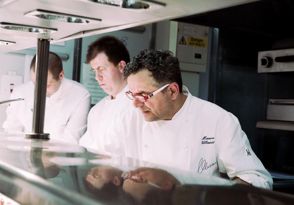 Mauro Uliassi  Chef