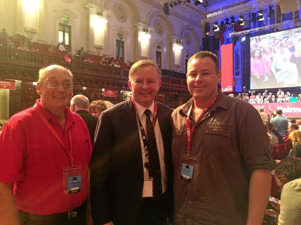Damian Woods, Labor |   Photo: Coffs Coast Advocate