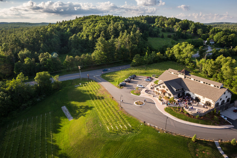 Labelle Winery New Hampshire Aerial Drone Real Estate Photography