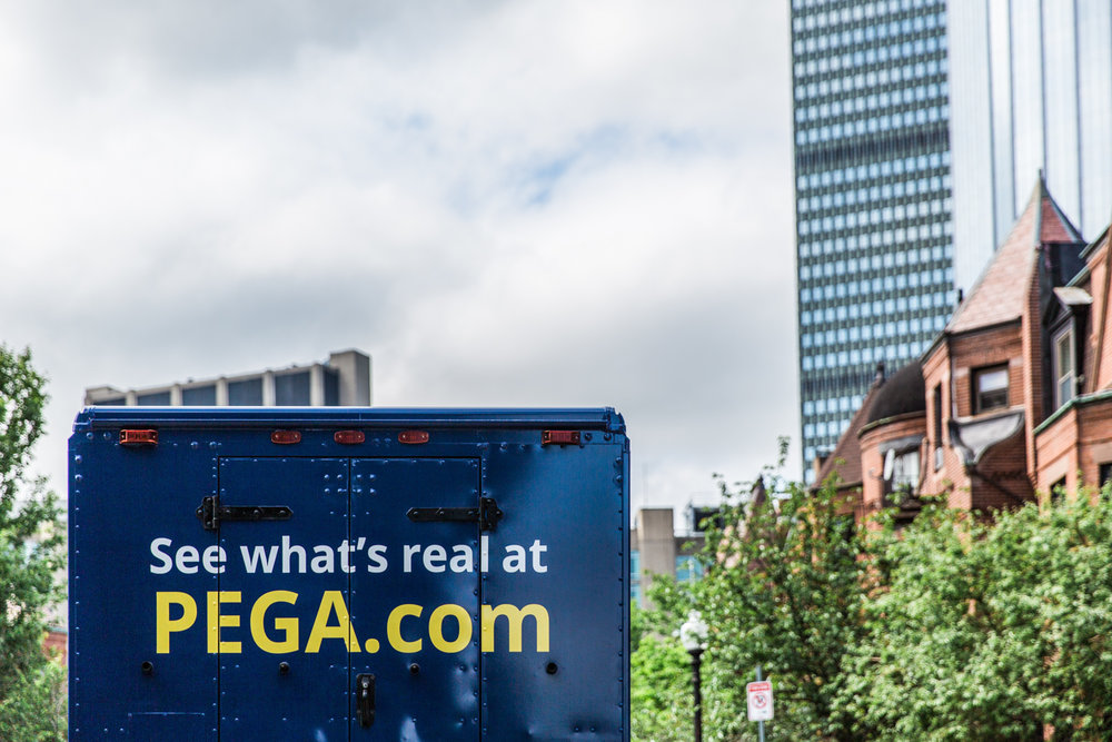 Pega Boston Advertising Brand Promotional Photography