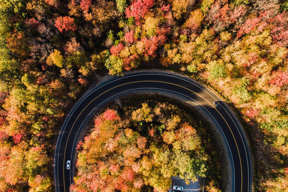Fall Foliage Franconia New Hampshire Professional Photography