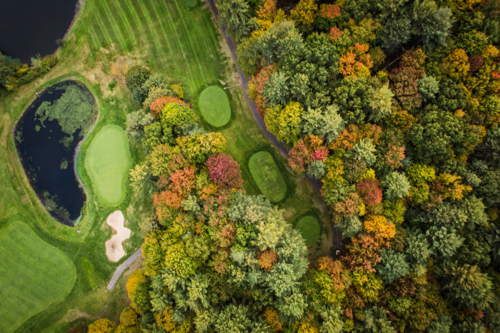 Golf Course Aerial Photography