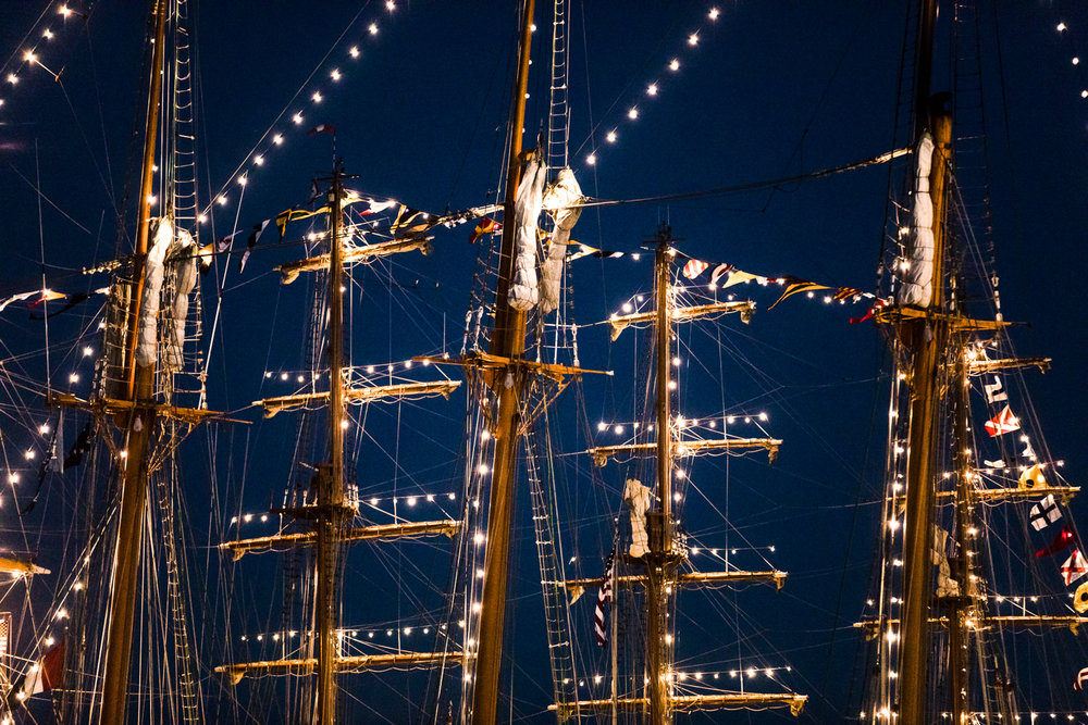 Sail Boston Ships Photography