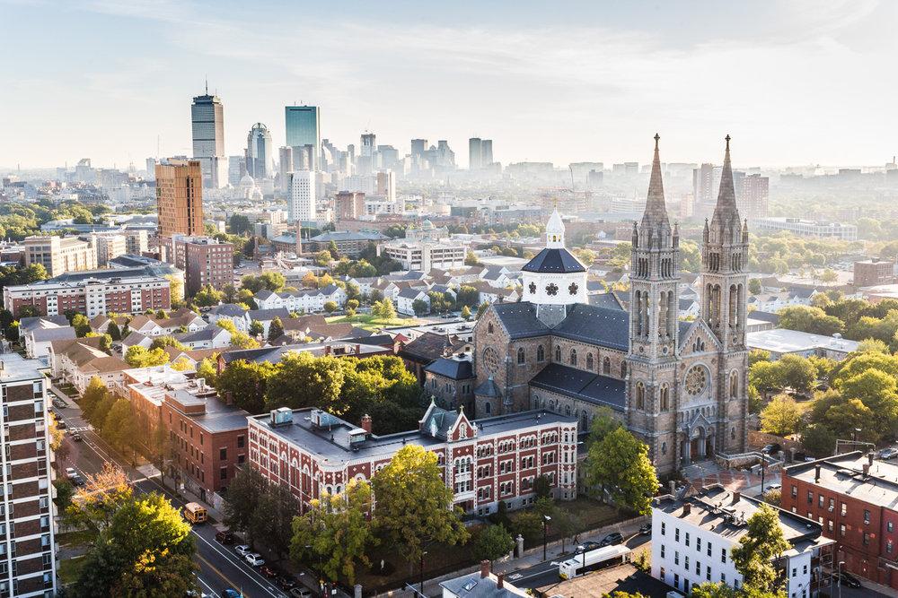 Boston Aerial Photography