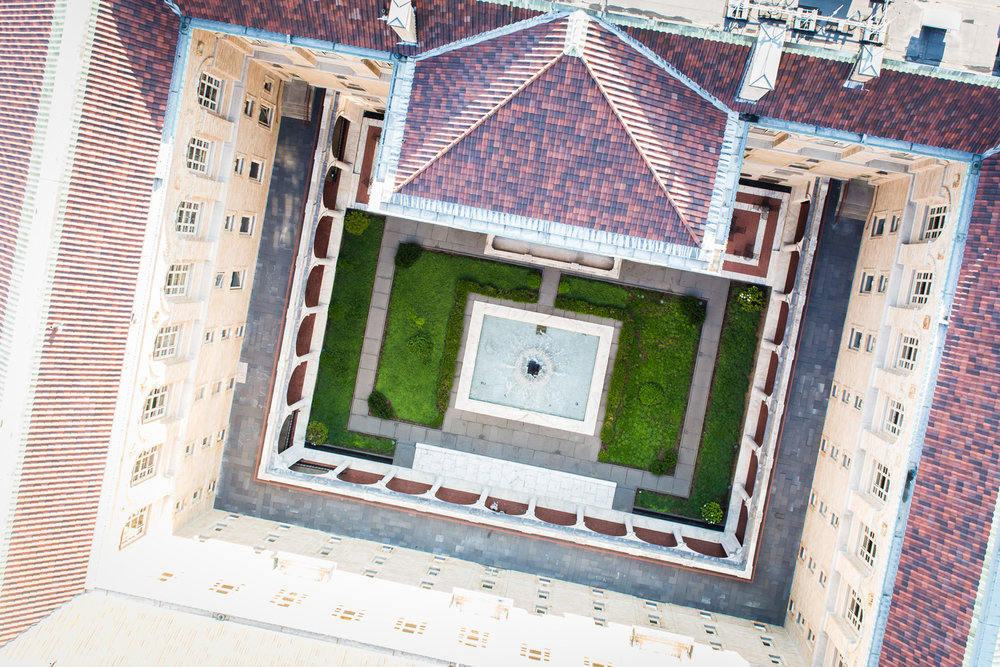 Boston Public Library Aerial Photography