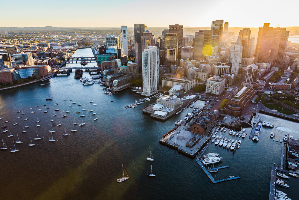 Boston Aerial helicopter Real Estate Photography