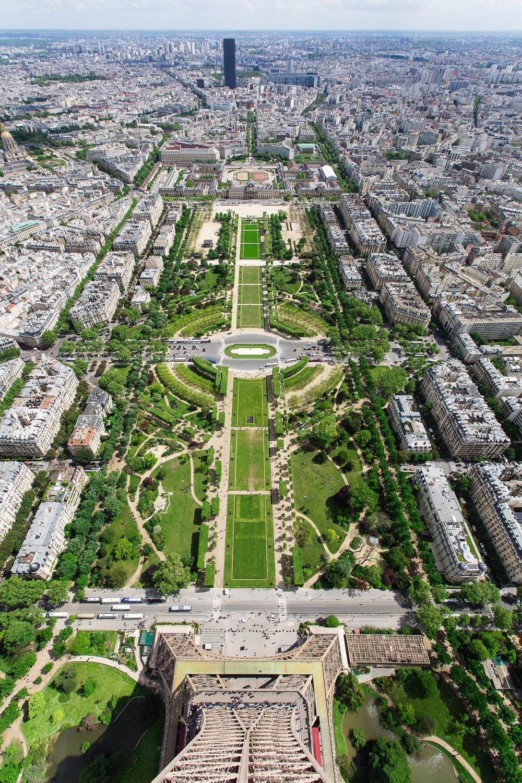 Paris Eiffel Tower Tourism Photography
