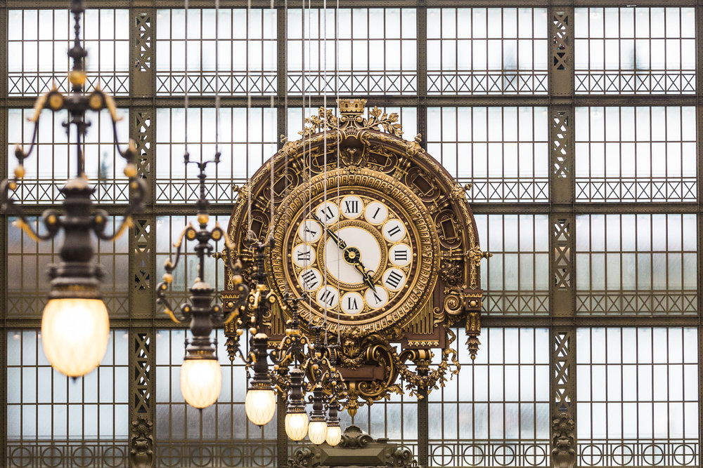 Paris Musee D'Orsay Tourism Photography