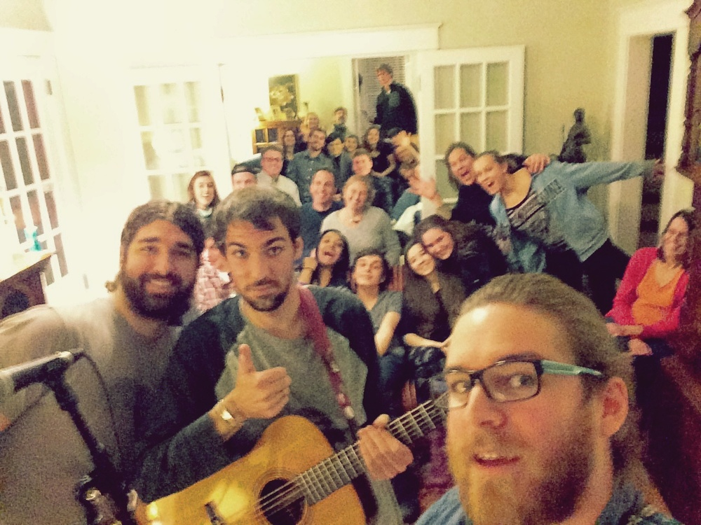 What agreat time in Raleigh! House shows can sometimes be the best shows. Thanks to everyone who made it out in the weather and made it a great gig!