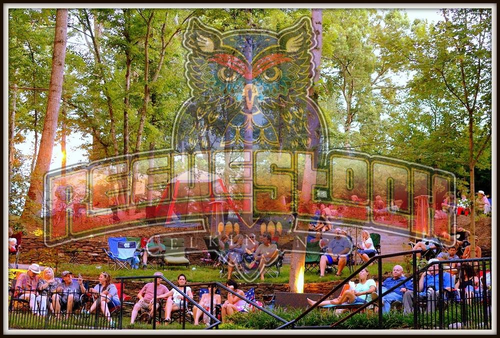 Elkin's Hidden Amphitheater, Elkin, NC.
