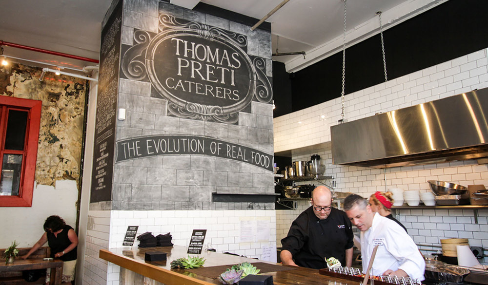 """The Evolution of Real Food"" at the Thomas Preti pop-up"