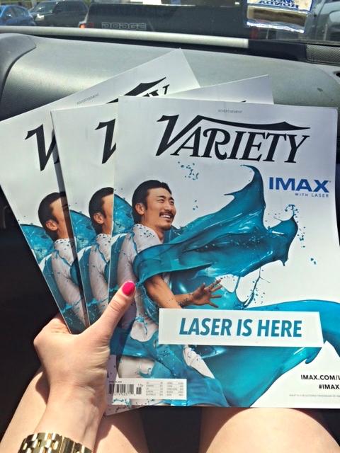 Variety IMAX Ad