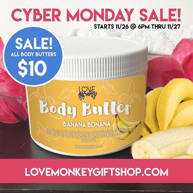 This butter smells AMAZING! Yet yours today! @lovemonkeygiftshop 😁#lovemonkey #bodybutter