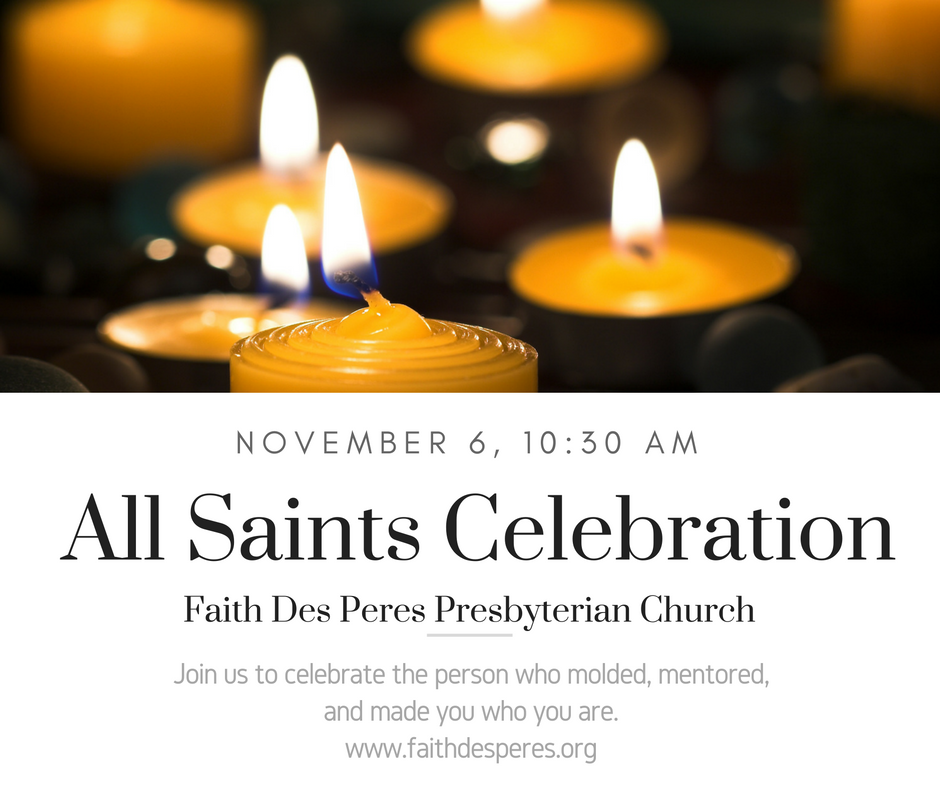 All Saints Sunday November 6, 2016 Click on Image for sermon.