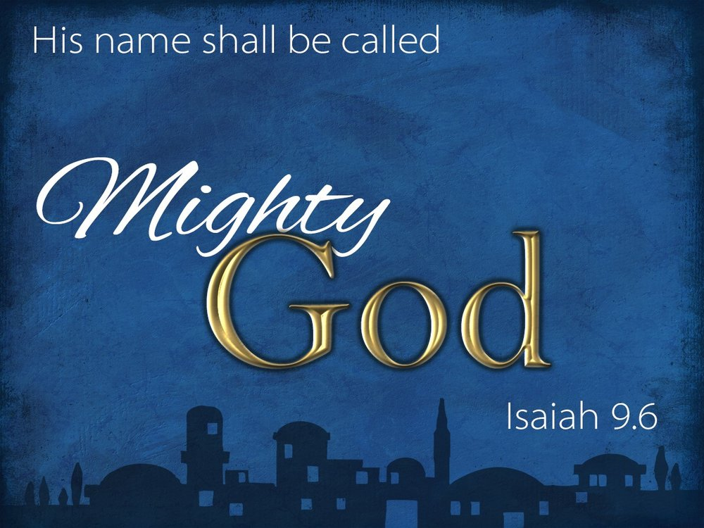 Known By Many Names November 27-December 18 Click on image for sermons.