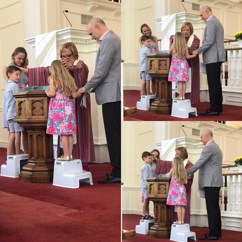 Hiner Baptisms Easter 2019