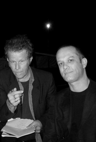 With Tom Waits, San Francisco, September 2004