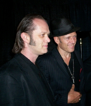 With Paul Simonon, San Francisco, April 2007