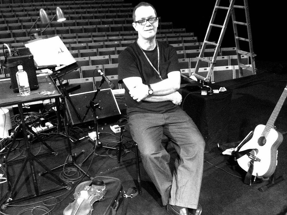 Rehearsing, London 2012