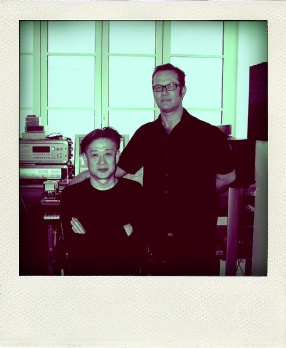With Jun Miyake, Paris 2007