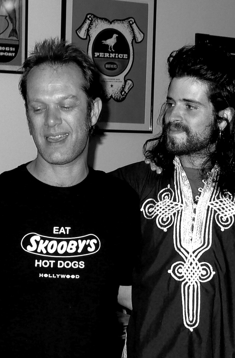 With Devendra Banhart, Los Angeles, 2006