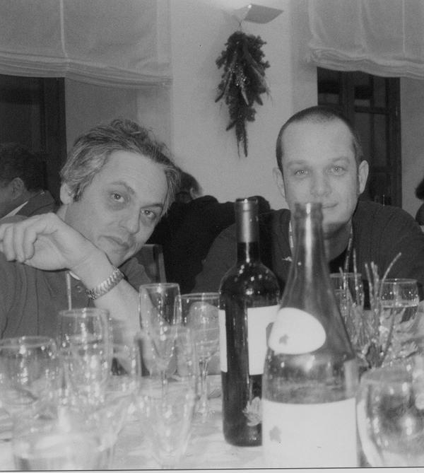 With Marc Ribot. Umbria Jazz, Orvieto, December 2000
