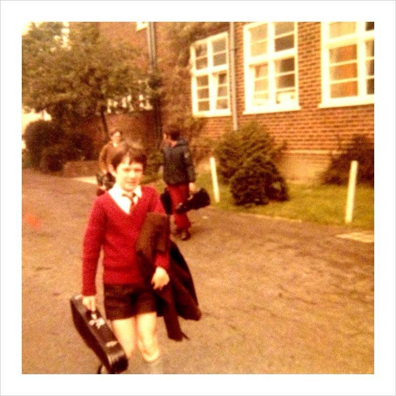Orchestra Rehearsal. Brockenhurst, UK. Aged 10.
