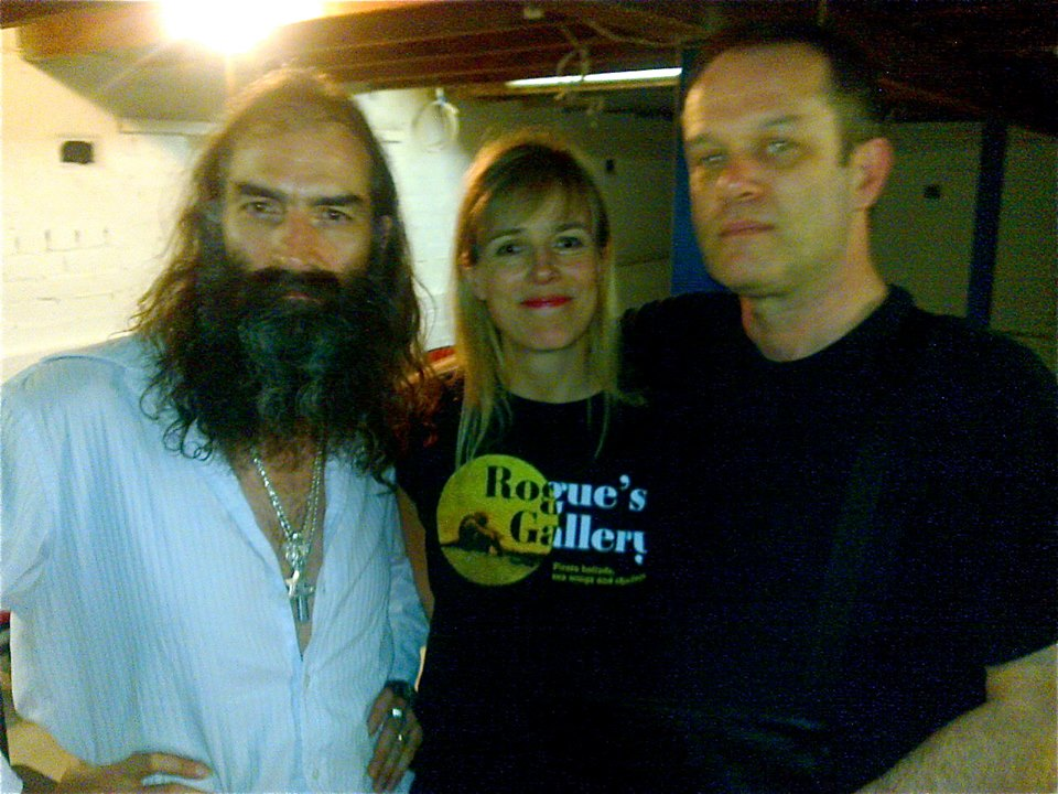 With Warren Ellis and Kate St John. Melbourne, 2010