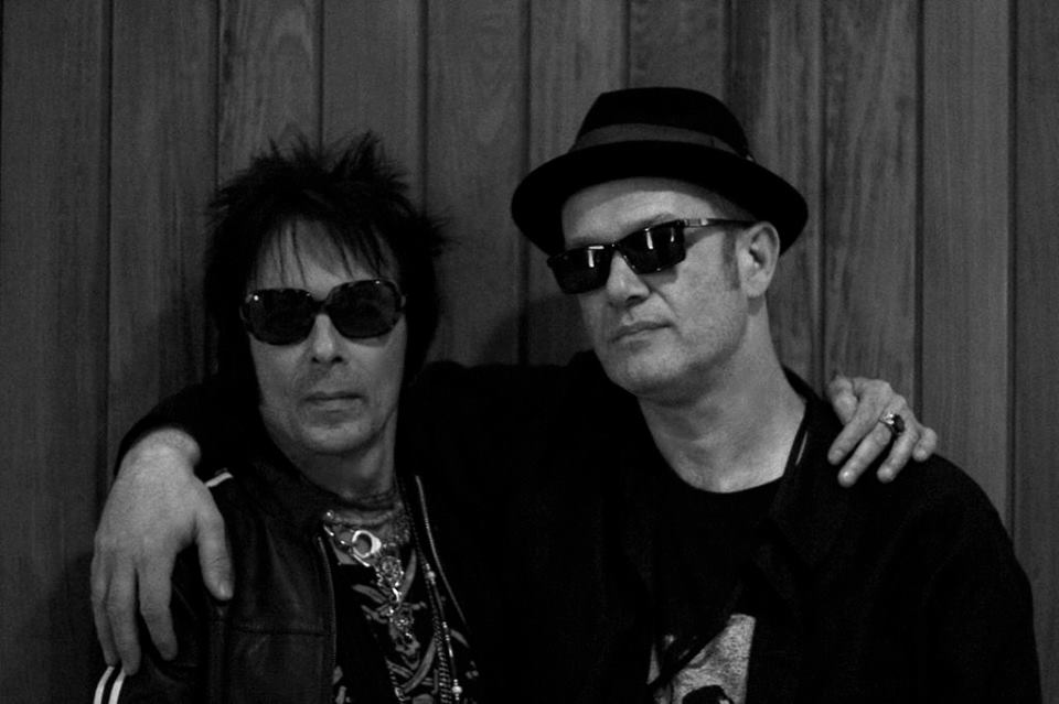 With Earl Slick. Yoko Ono's Meltdown. London, June 2013