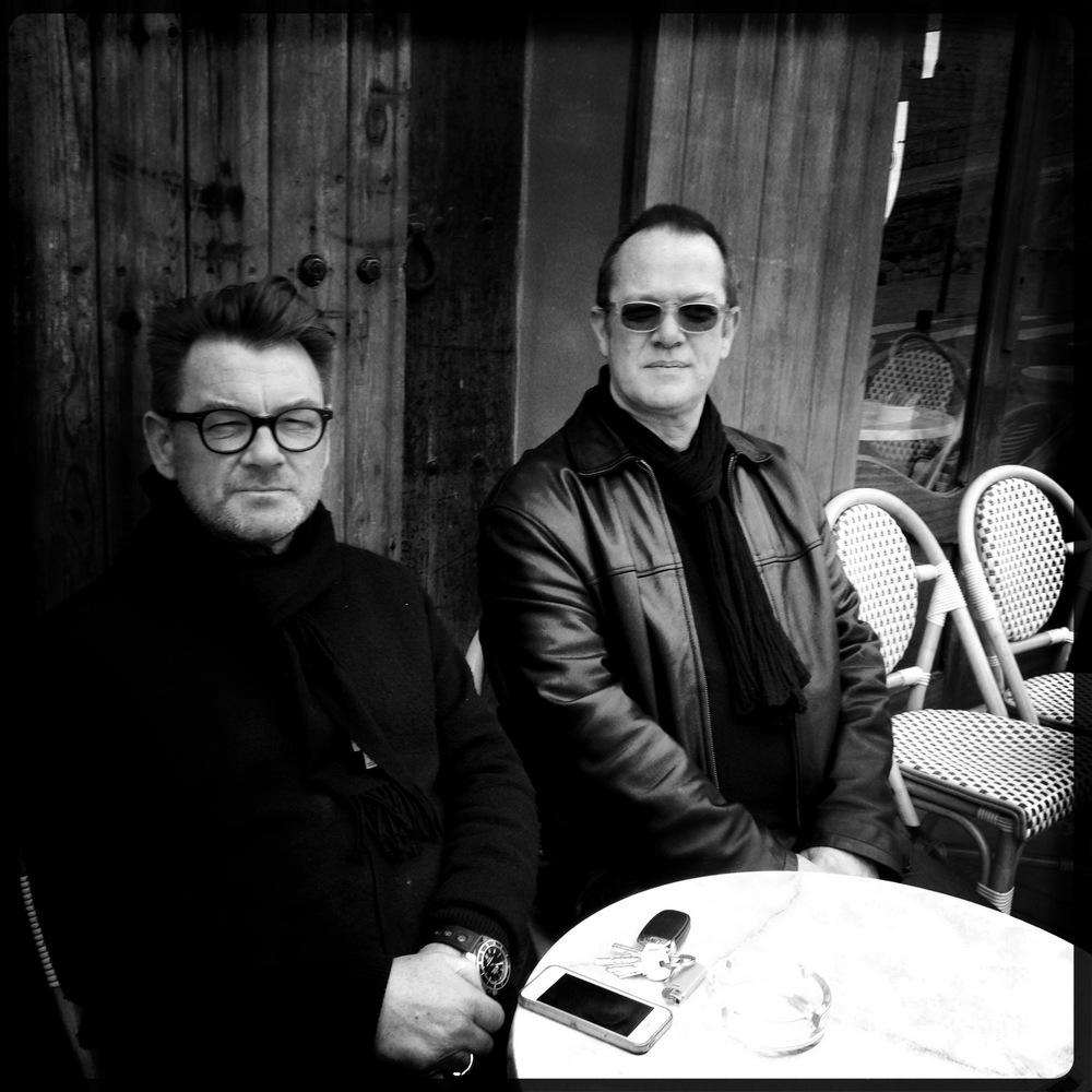 With Cathal Smyth, Ibiza