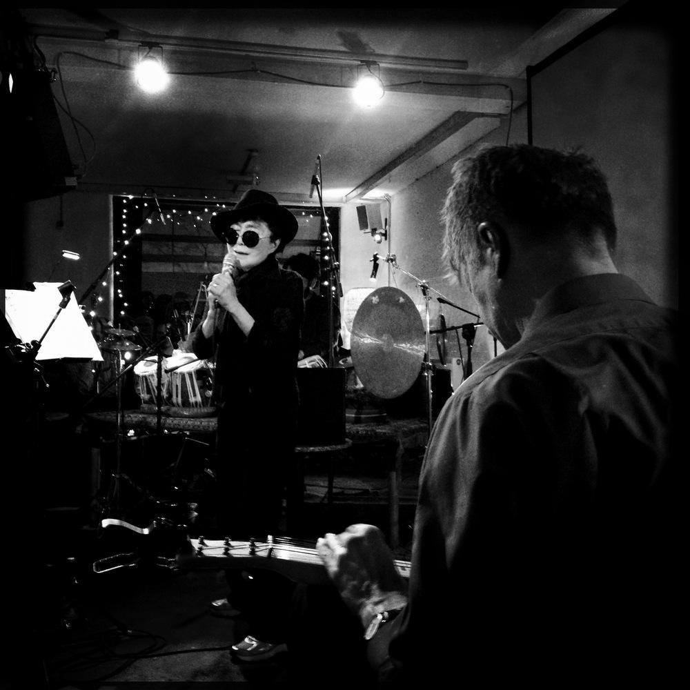Yoko Ono and Nels Cline, Cafe OTO, 25 March 2014
