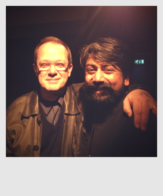 With Talvin Singh, Cafe OTO, March 2014