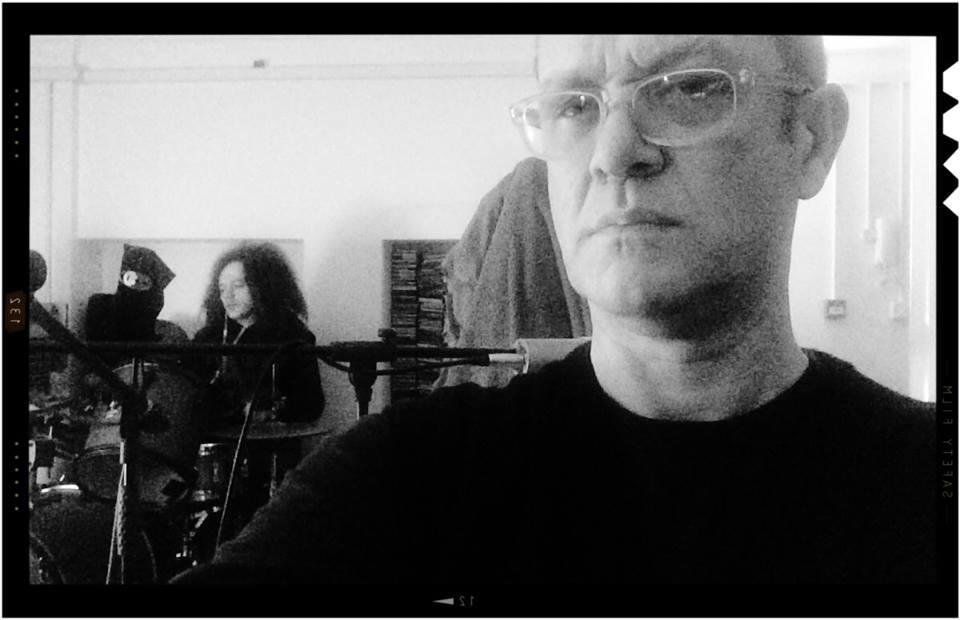 Recording new album with Seb Rochford, April 2014