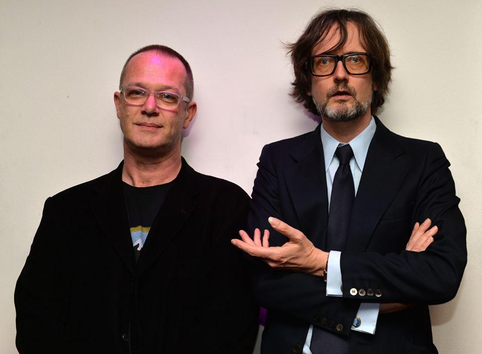 DC and Jarvis Cocker after the Kronos Quartet KERF premier (Photo by Mark Allen)