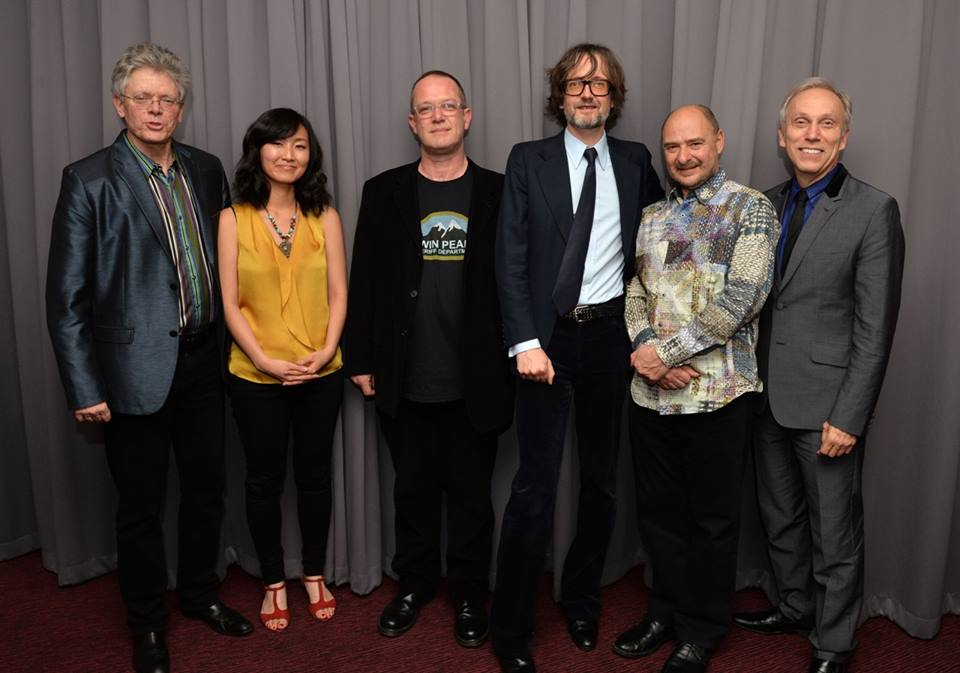 DC and Jarvis Cocker with Kronos Quartet (Photo by Mark Allen)
