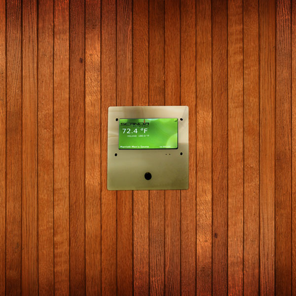 IoT internet connected sauna and steam room alarm