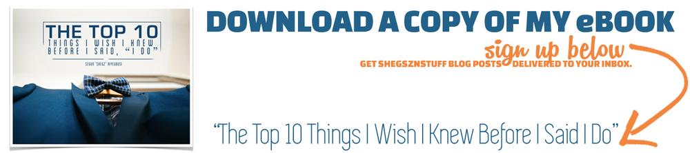 top 10 things i wish I knew before I said I do