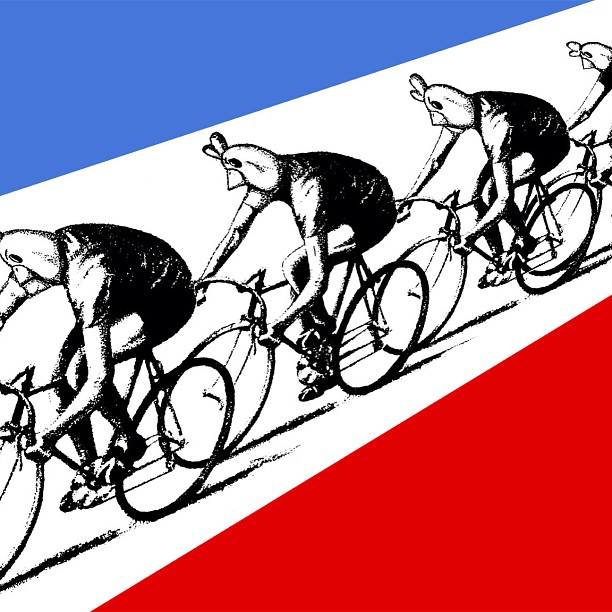 'Tour de Pollo' -  ArtCrank 2014    Homage to Kraftwerk